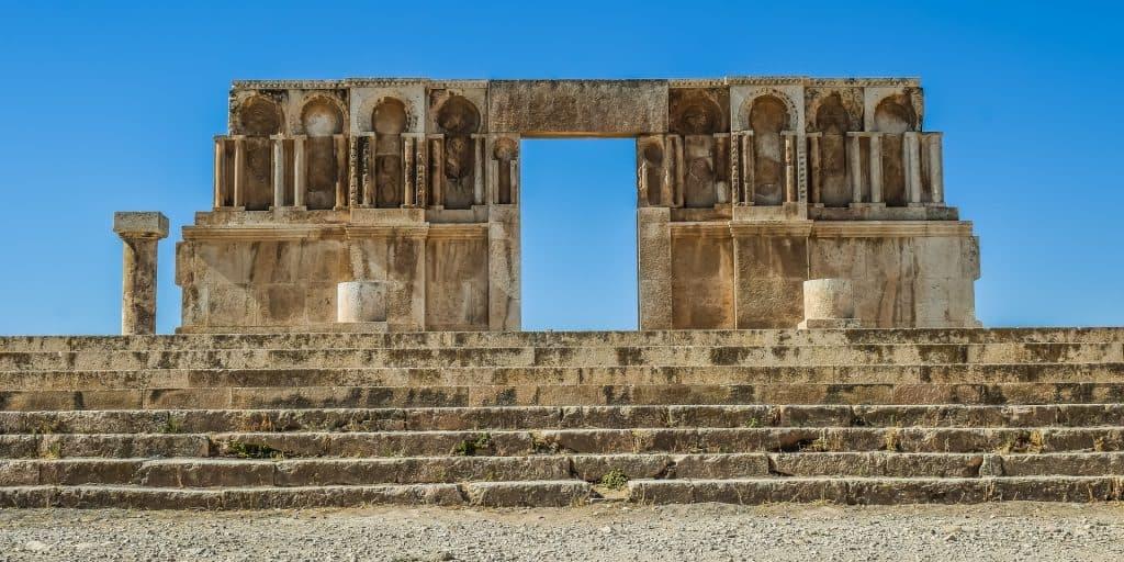 The Citadel in Amman, Jordan