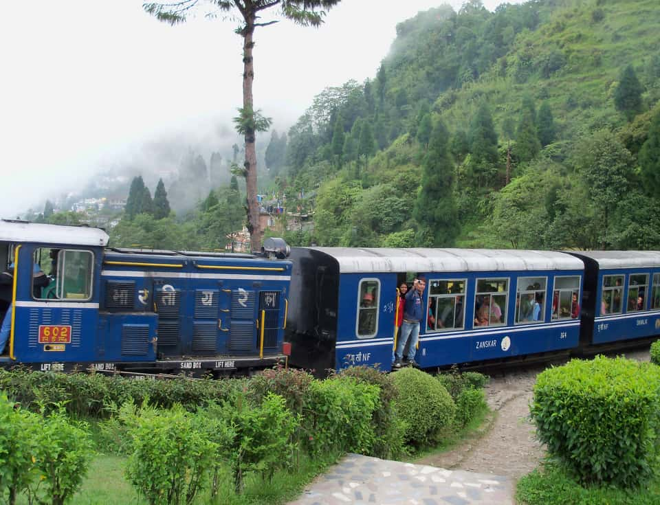 Darjeeling Toy Train at the Batasia Loop
