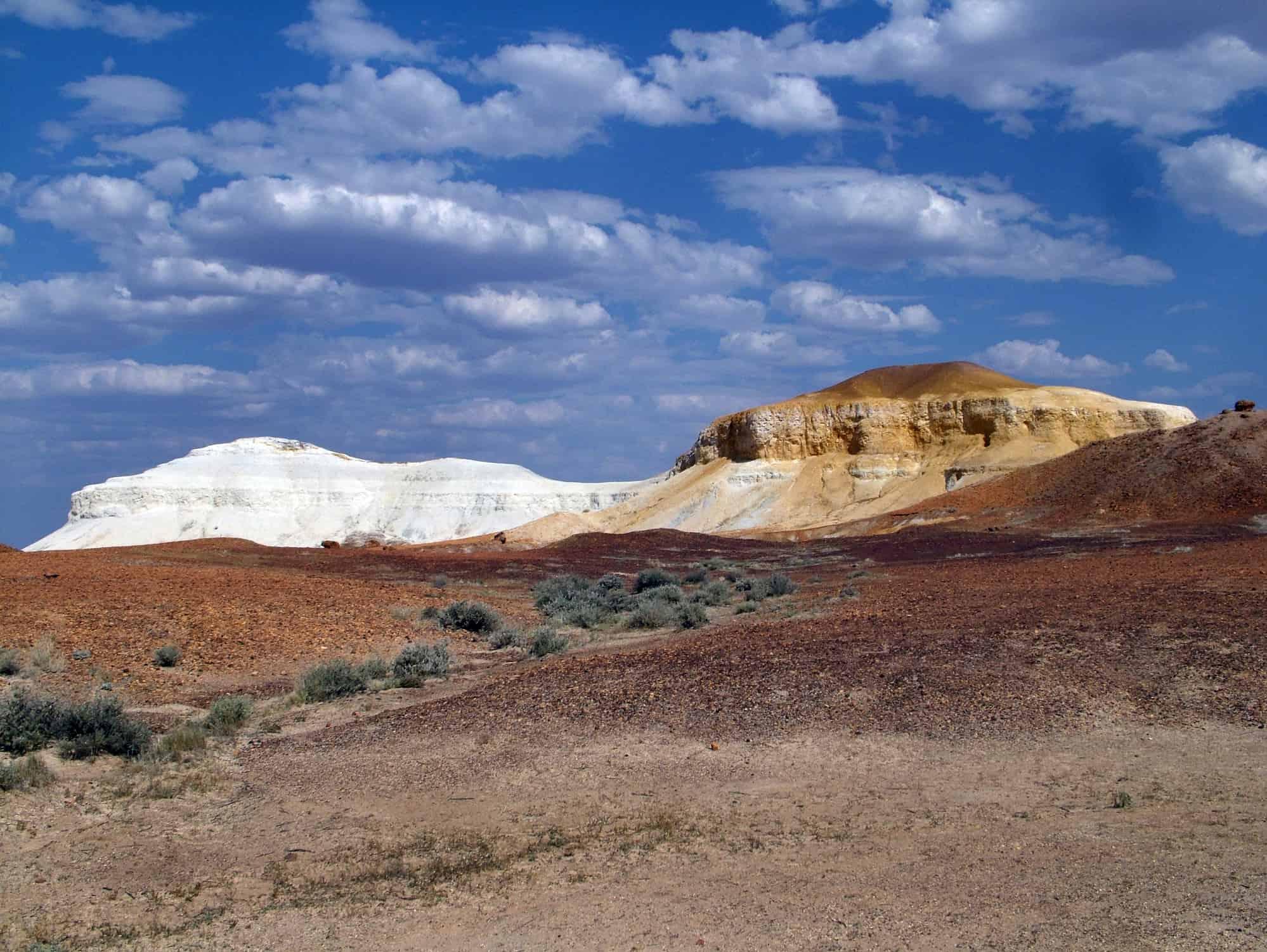White and orange escarpments, Kimberly, Western Australia