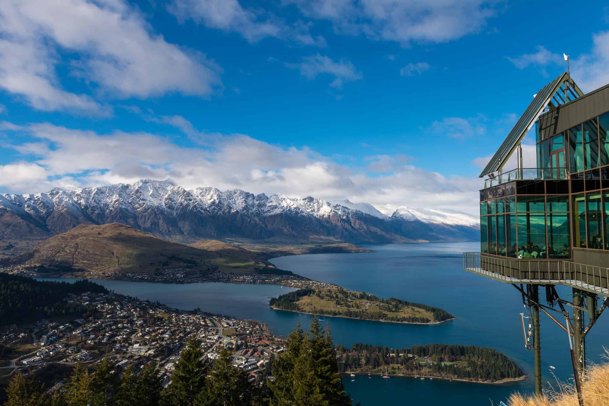 Skyline complex, Queenstown, Otago, New Zealand