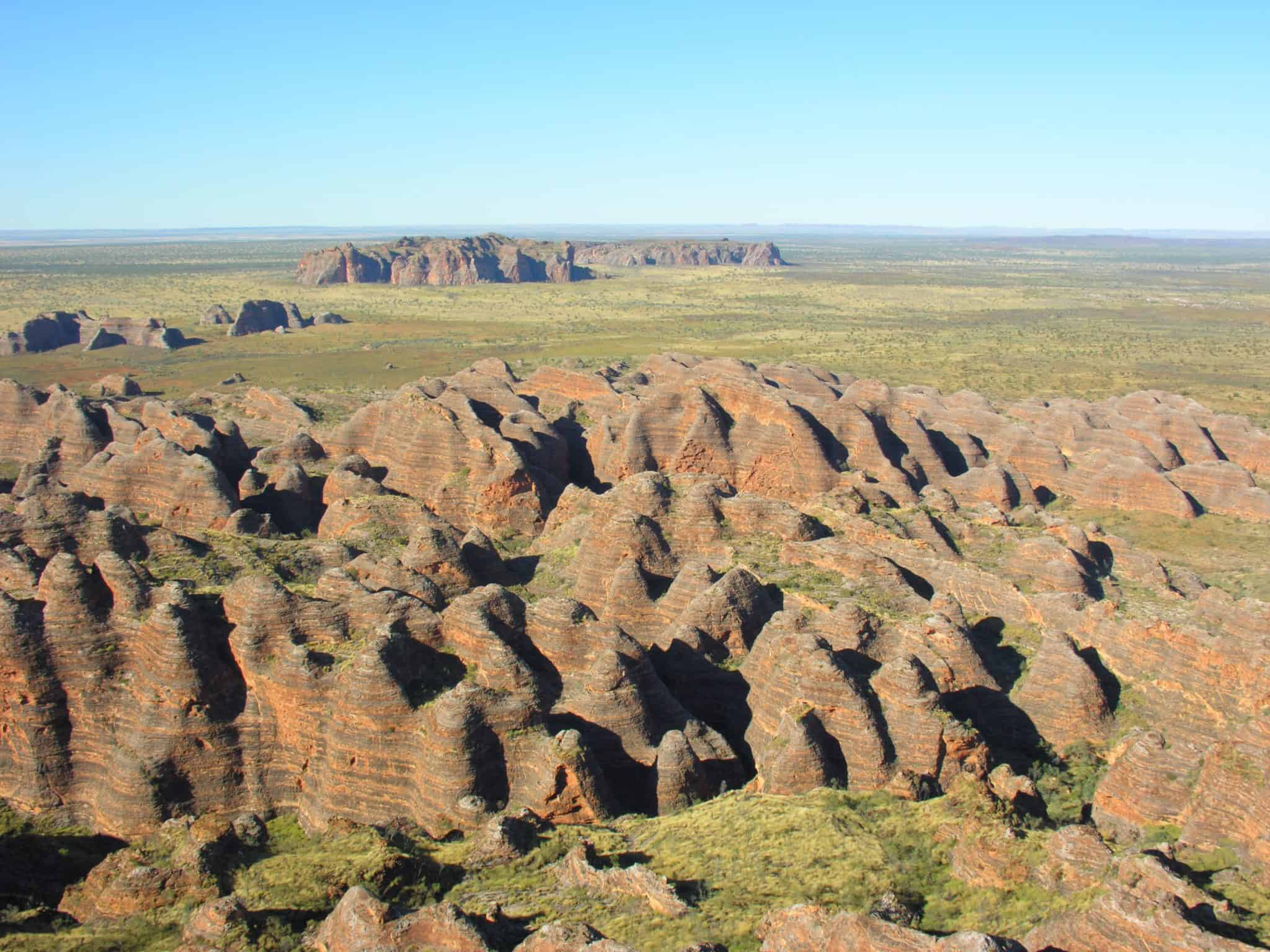 Bungle Bungles below