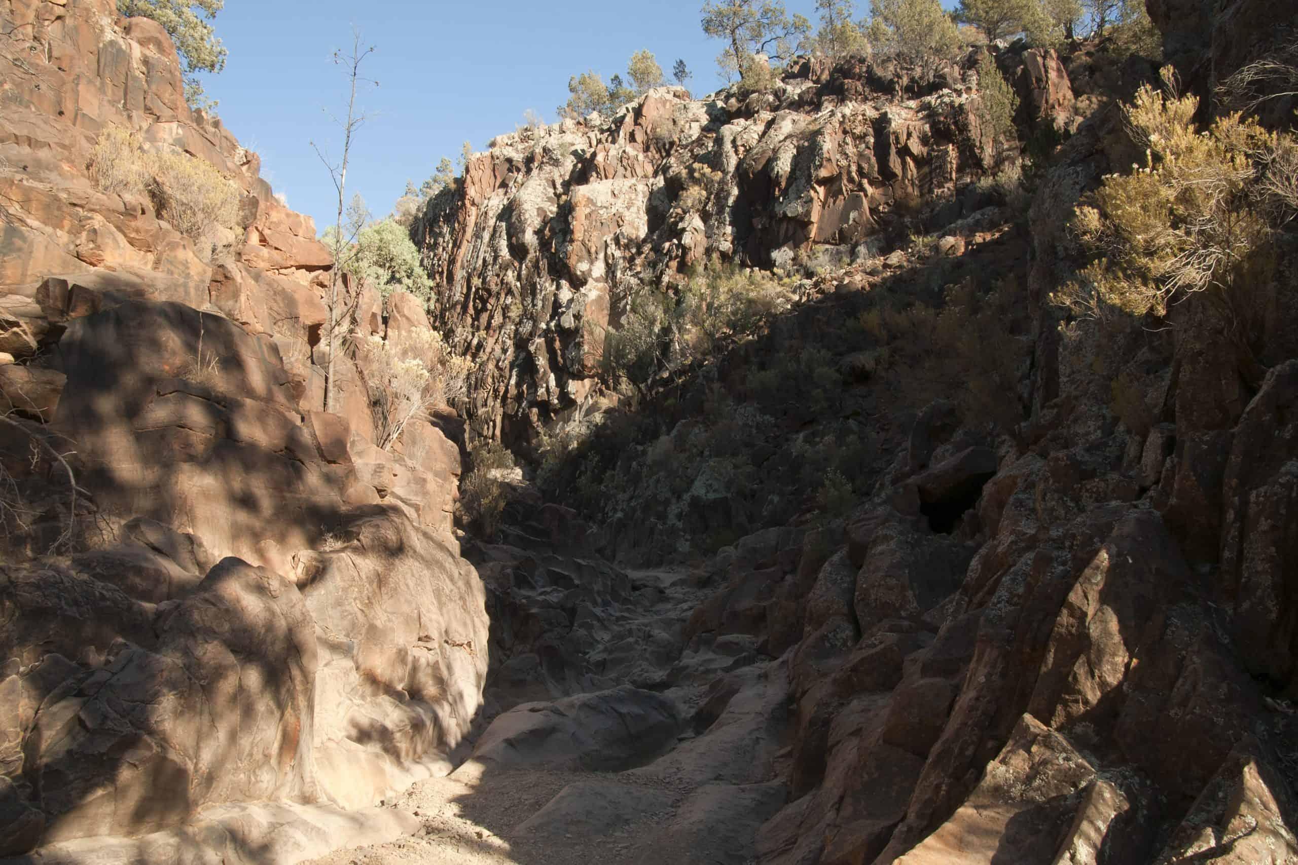 Sacred Canyon landscape