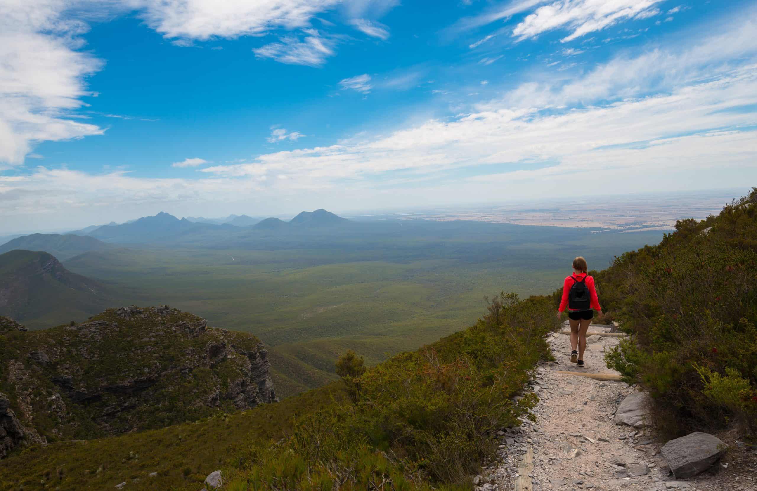 Trekking Stirling Range National Park