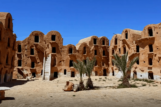 Ksar Ouled Soltane - Tataouine district in southern Tunisia