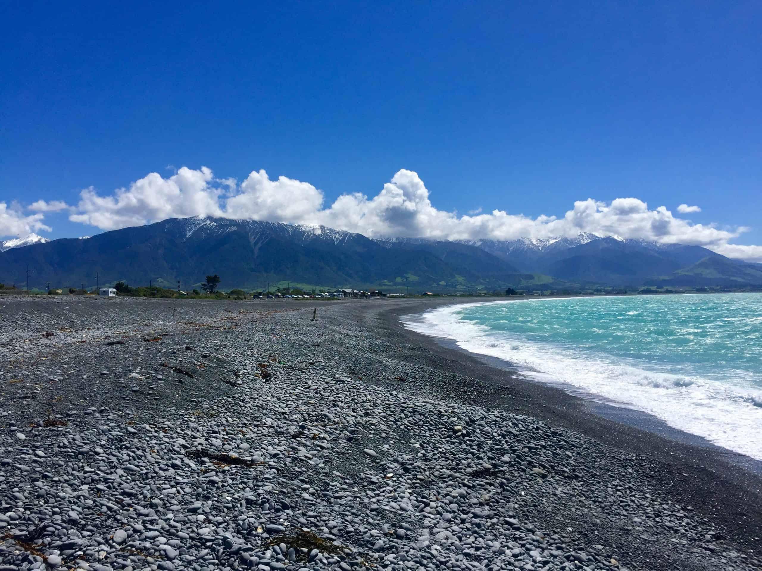Kaikoura - beach