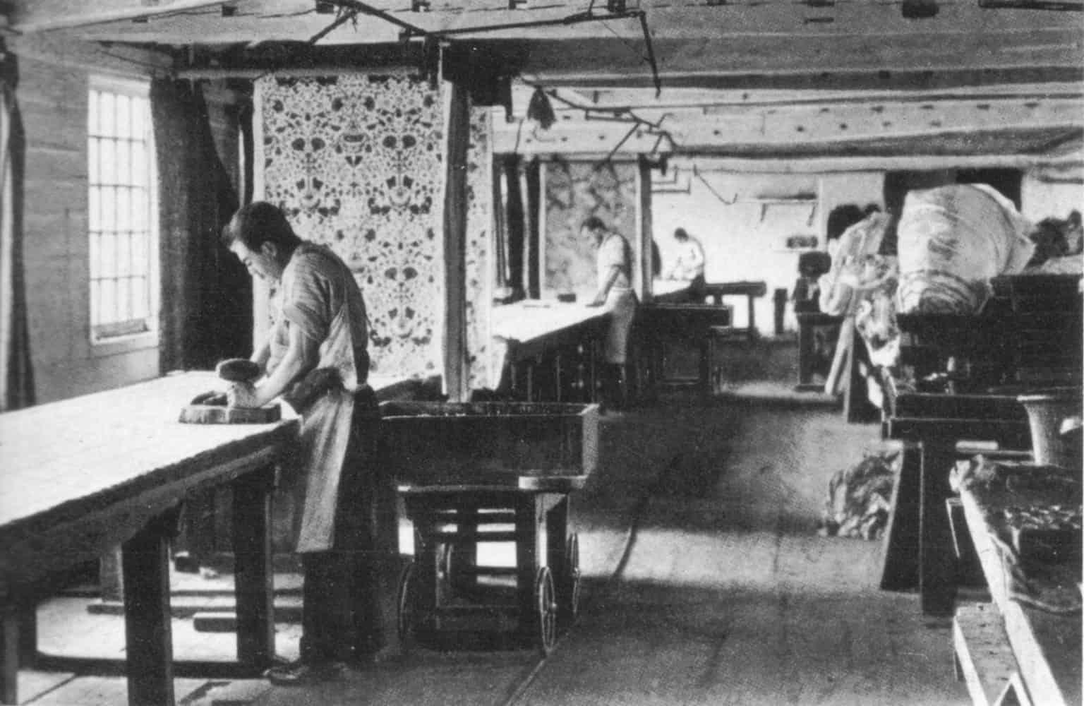 Morris and Co studio