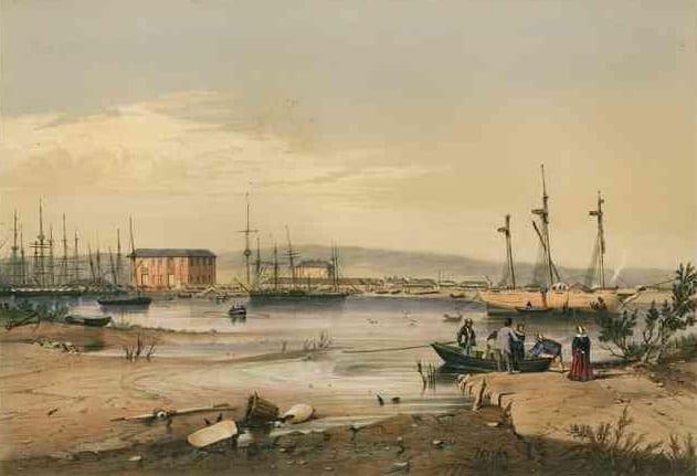 Port Adelaide, 1846.