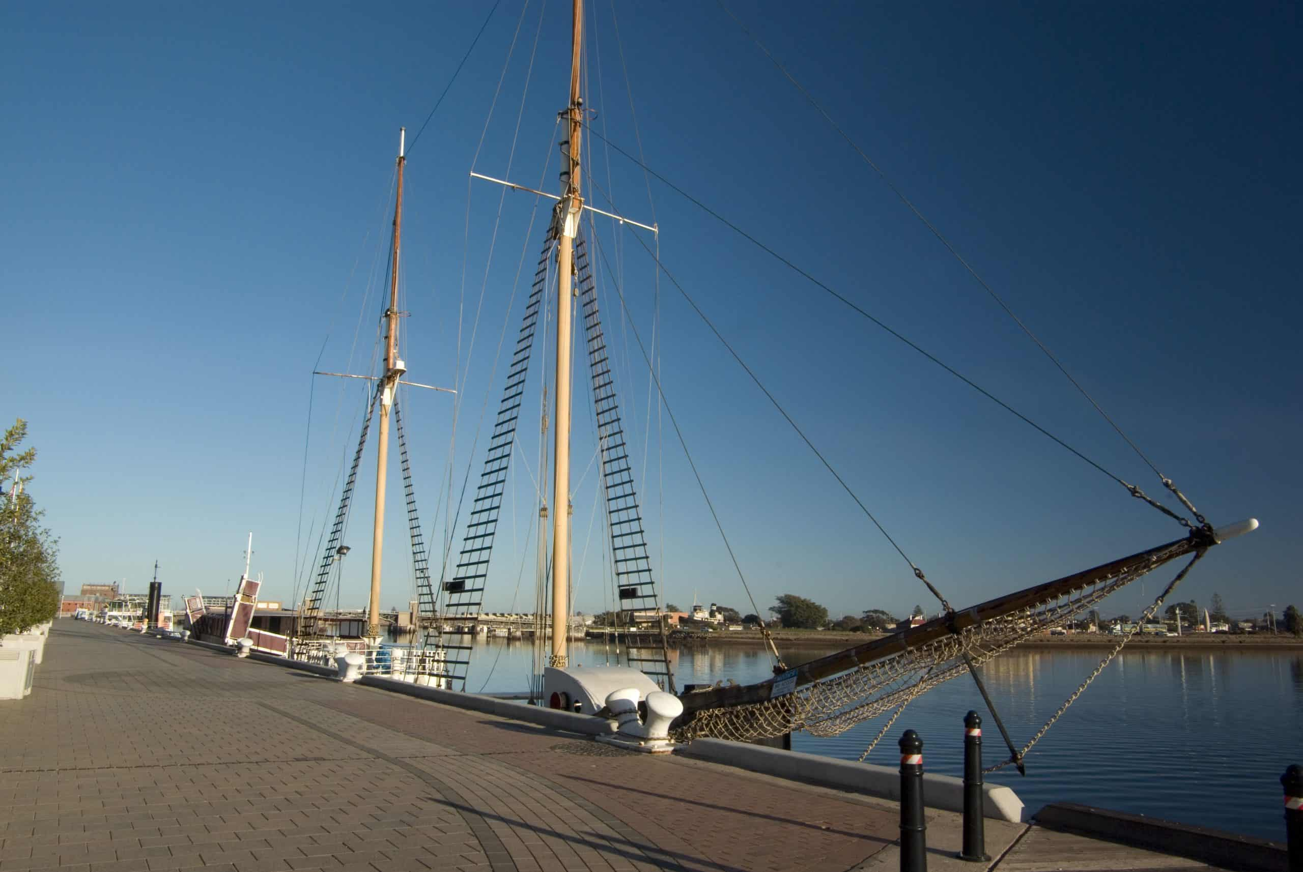 Port Adelaide harbour