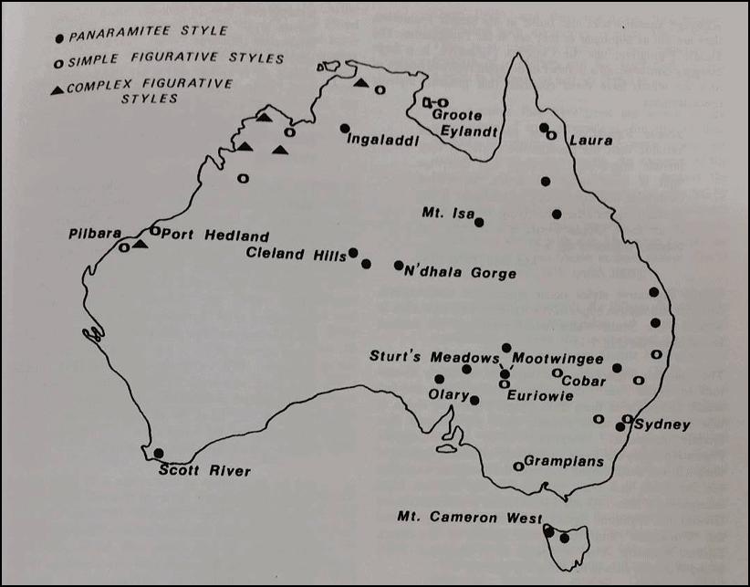 Panaramitee - map