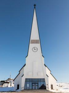 Vardo Church - Finnmark county - Northern Norway